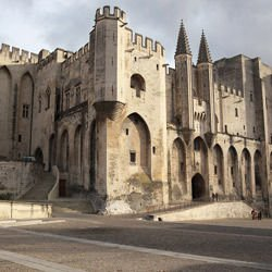 -  Palais des Papes in Avignon