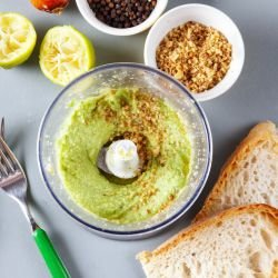 Mashed Avocado with Tahini