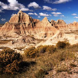 Beaufort Castle - Badlands National Park