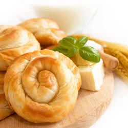Spiral Phyllo Pastry