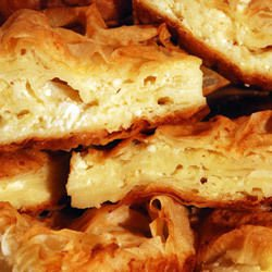 Simple Phyllo Pastry with Feta Cheese