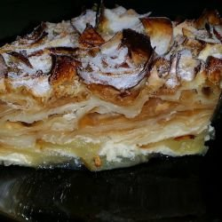 Phyllo Pastry with Yufka and Apples
