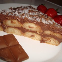 Biscotti Cake with Coffee