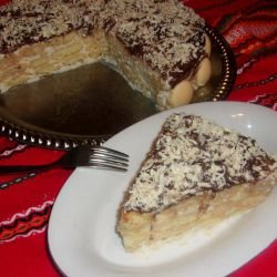 Biscotti Cake with Mascarpone