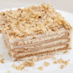 Biscuit Cake with Baked Layers
