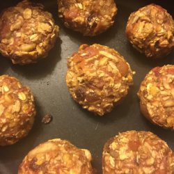 Healthy Biscuits with Oats and Apples
