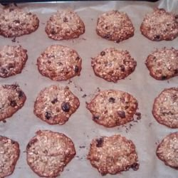 Healthy Cookies with Sunflower and Sesame Seeds