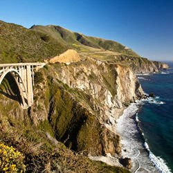 Kilkea Castle - Bixby Creek Bridge