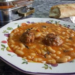 Beans with Meatballs