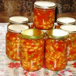 Ropotamo Bean Salad in Jars