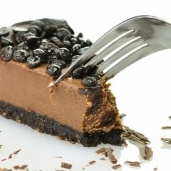 Chocolate Cheesecake with Coffee