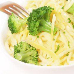 Spaghetti with Broccoli and Blue Cheese
