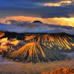Parks of the world , Page 2 -  Bromo Tengger Semeru National Park
