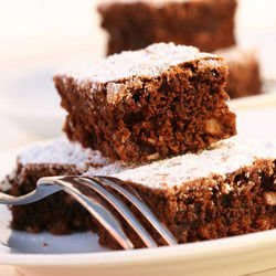 Brownies with Yoghurt