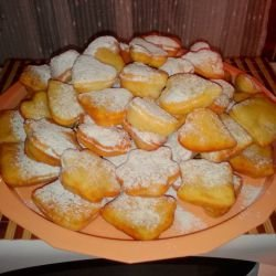 Fritters with Powdered Sugar