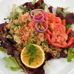 Bulgur with Onions and Tomatoes