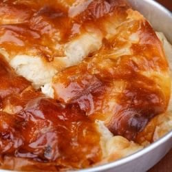 Phyllo Pastry with Topping