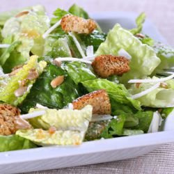 Caesar Salad with Dressing