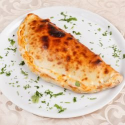 Calzone with Ricotta and Mozzarella