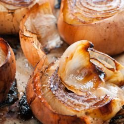 Oven-Baked Onions