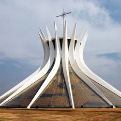 information about the central plains - Cathedral of Brasilia