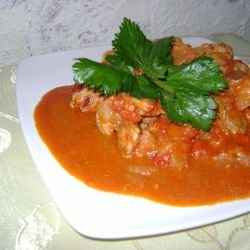 Chakhokhbili with Pork