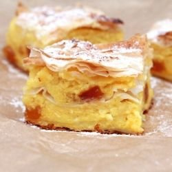 Milk Phyllo Pastry with Cream