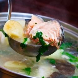 Easy Fish Soup with Carp