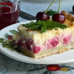 French Cherry Flan