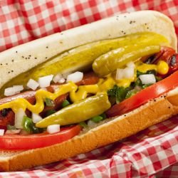 Chicago-Style Hot Dog