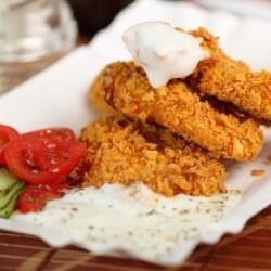Cornflakes Chicken Fillets