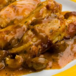 French-Style Chicken with Chestnuts