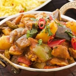 Пиле Виндало (Chicken Vindaloo)