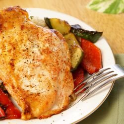 Summer Roast Chicken