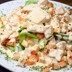 Chicken with Vegetables and Sour Cream