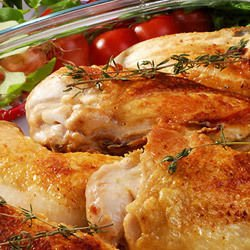 Chicken with Cream and Rosemary