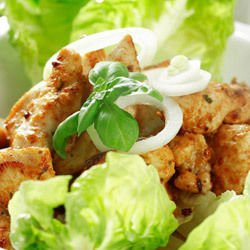 Chicken Fillets with Garlic