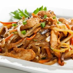 Exquisite Chinese-Style Chicken with Vegetables