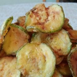 Zucchini Chips for Beer