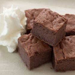 Chocolate Brownies with Chestnuts