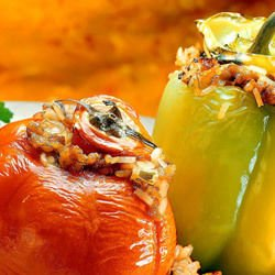Stuffed Vegetarian Bell Peppers