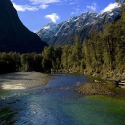 Milford Track -  Clinton River