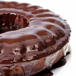 Cocoa Glaze for Cakes
