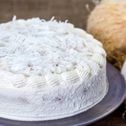 Coconut Cake without Baking