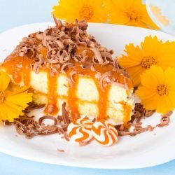 Cake with Apricot Cream