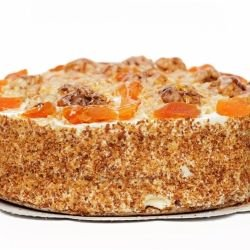 Serbian Cake with Apricot Jam