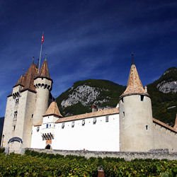 Switzerland -  Aigle Castle