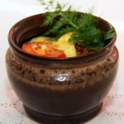 Oriental Clay Pot Dish