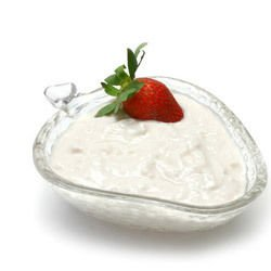 Strained Strawberry Yoghurt