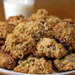 Biscuits with Sesame and Oats